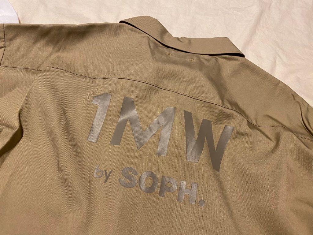 オープンカラーシャツ(5分袖)1MW by SOPH.後ろ