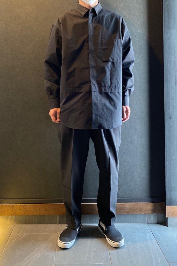 ユニクロ+J スーピマコットン オーバーサイズシャツ(長袖)